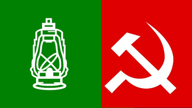 RJD seat share with cpim