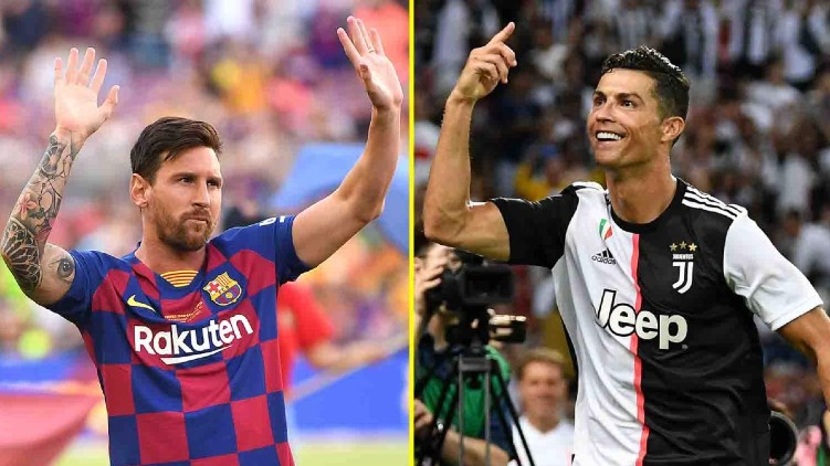 Champions League Messi Ronaldo