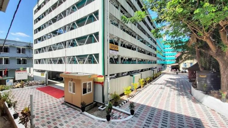multi level parking center Thiruvananthapuram