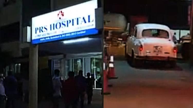 shivashankar hospitalized