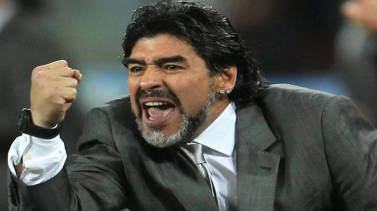 Birthday of football legend Diego Maradona