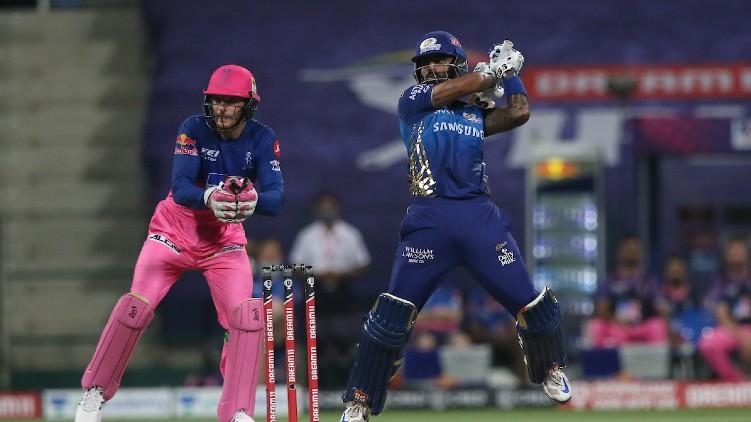 MI RR IPL innings