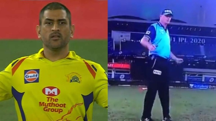 ms dhoni appeal controversy