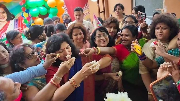 BJP Aparajita lockdown birthday