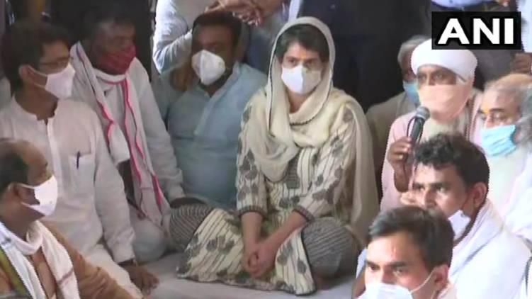 Hathras; Priyanka Gandhi attended prayer service in Delhi