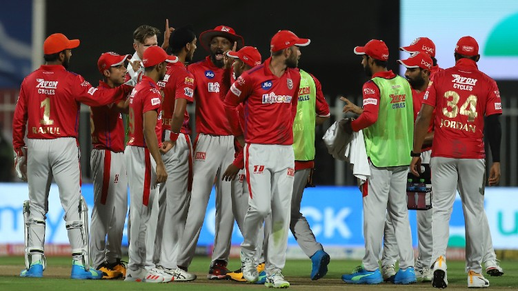 rcb kxip ipl first innings