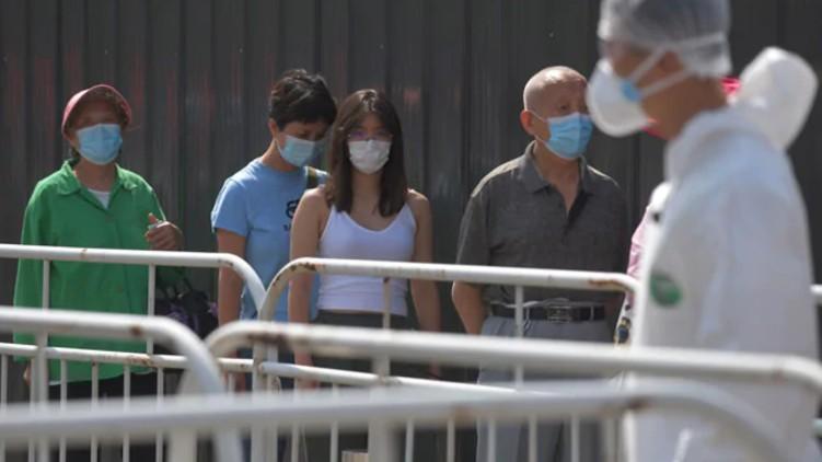 china city covid test