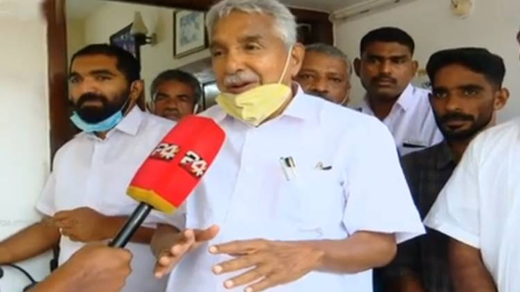 Oommen Chandy rejects the possibility of expanding the udf