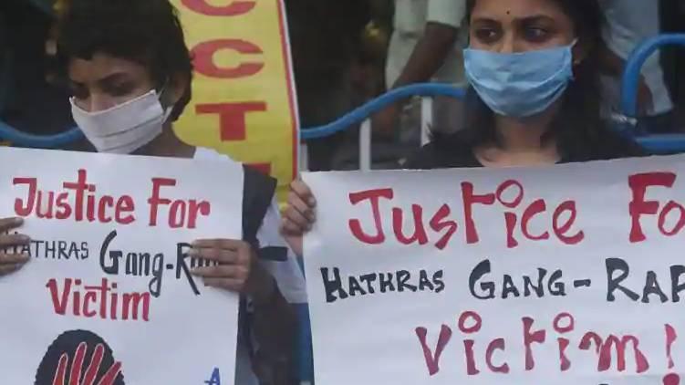 hathras gangrape case ; father demands cbi probe