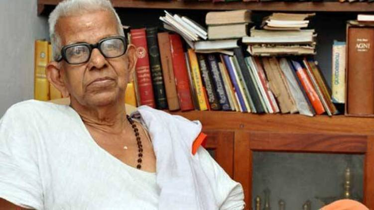 akkitham passes away