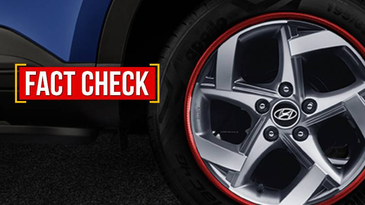 alloy wheen motoer vehicle department fact check