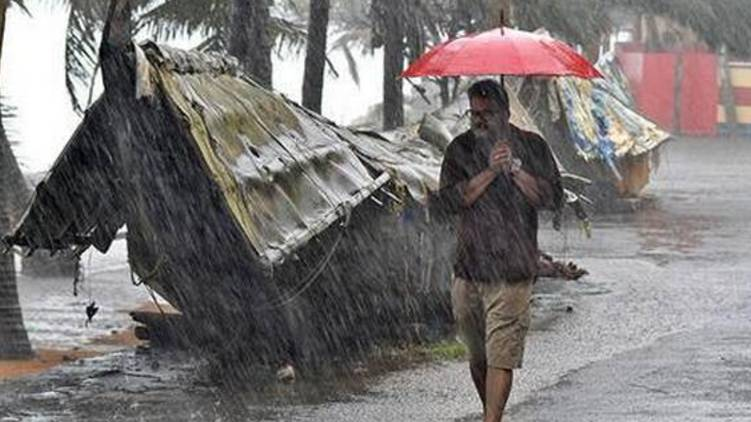 chances of heavy rain for two days