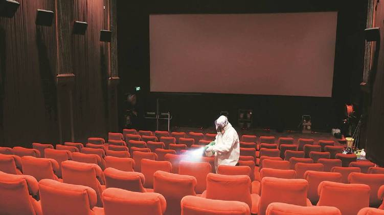 cinema theaters open from today