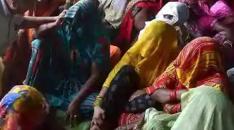 detained in home says hathras rape victim family