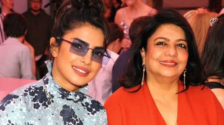 priyanka chopra mother