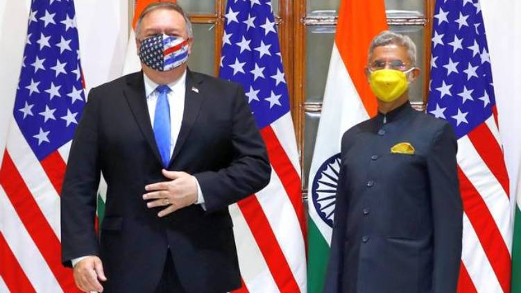 india america two plus two meeting today