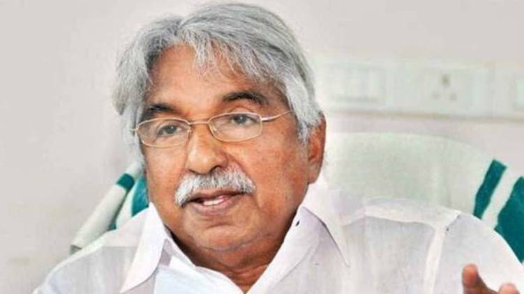 oommen chandy in covid observation