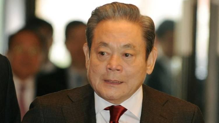 samsung chairman passes away