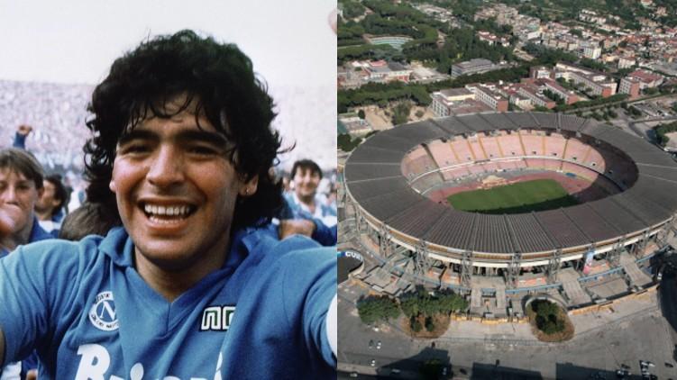 napoli stadium Diego Maradona