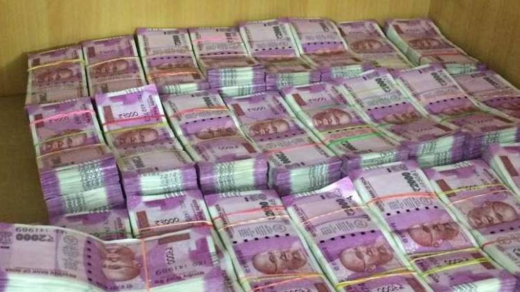 5 crore seized from believers church