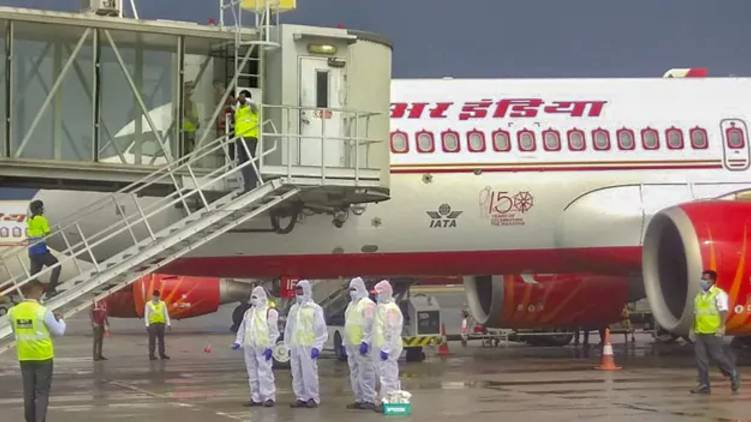 Lab Reports Say Negative but Air India passengers confirmed covid