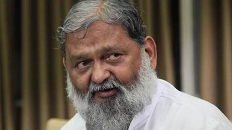 hariyana health minister anil vij