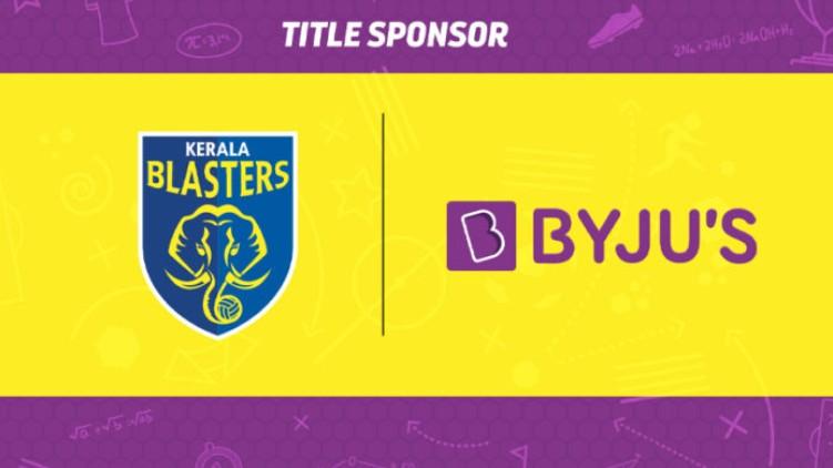 BYJUS Kerala Blasters sponsor