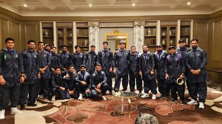 Team India leaves Australia