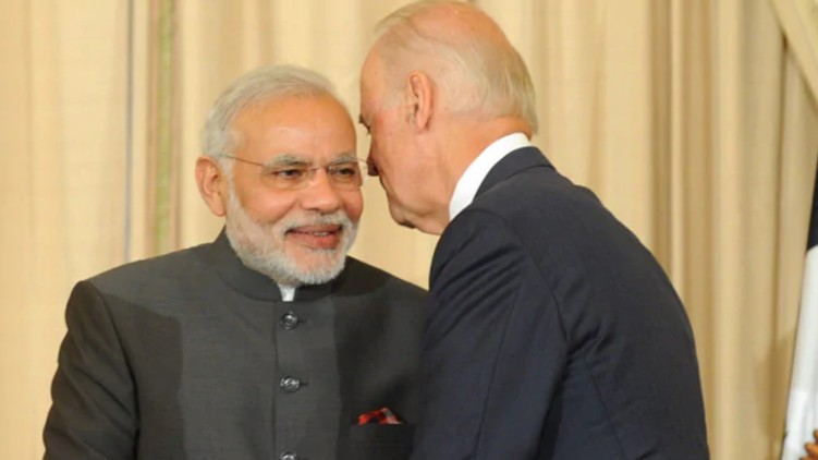 PM Modi Biden Speak