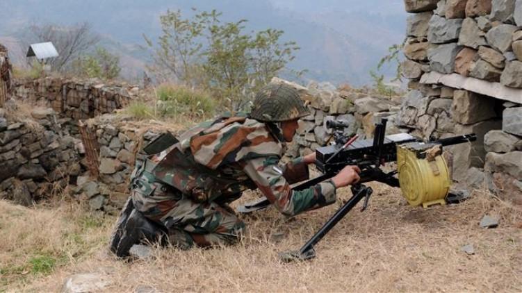 Pakistani soldiers killed fire