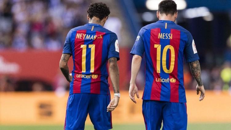 lionel messi barcelona neymar