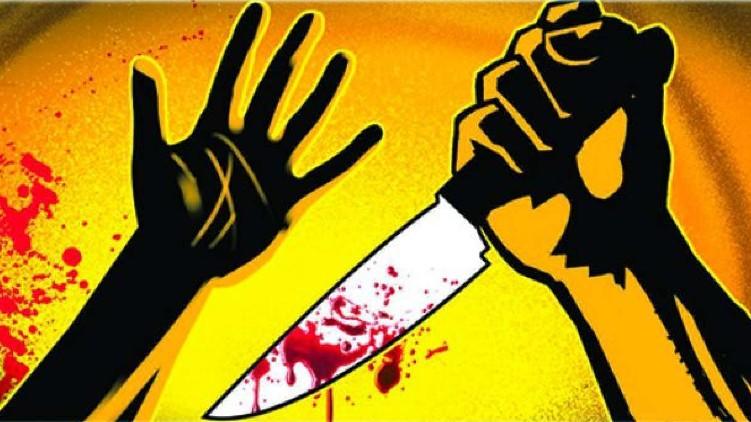 man stabs neighbor death