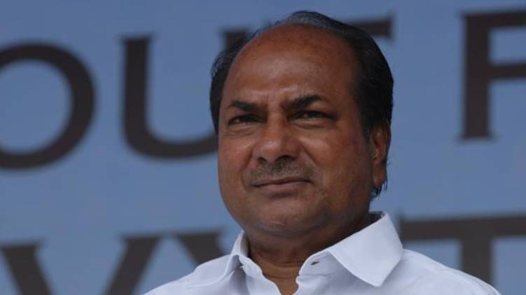 covid confirmed to AK Antony