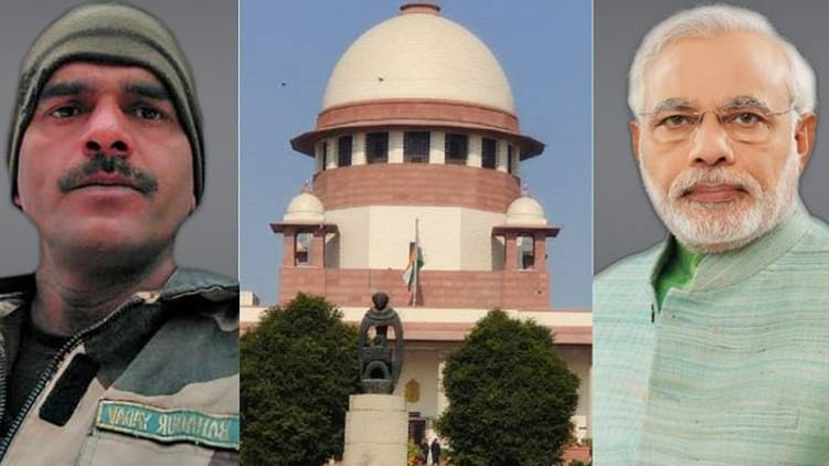 Supreme Court petition challenging the election of Narendra Modi