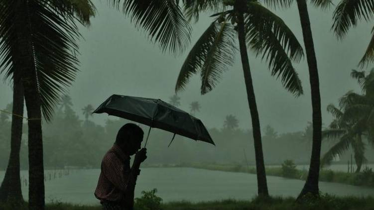 Low pressure; potential for heavy rain