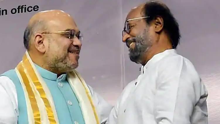 Amit Shah visit Chennai today; Attempt to meet Rajinikanth
