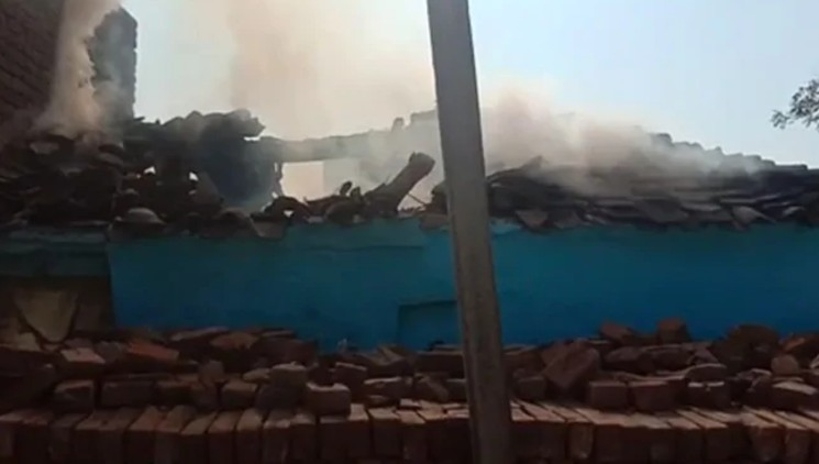 Dalit Brothers Beaten House