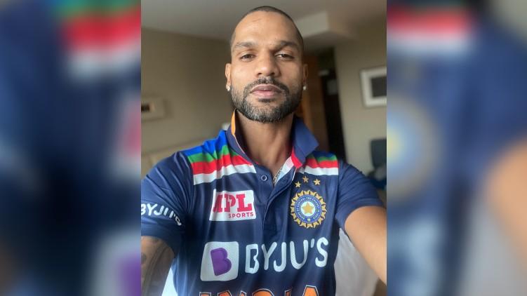 Shikhar Dhawan new jersey