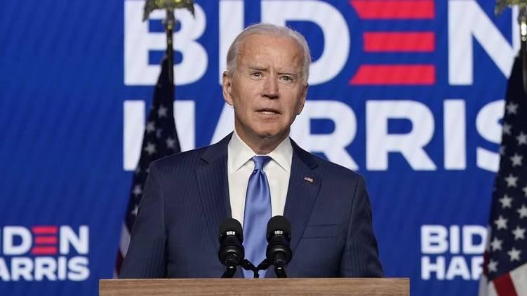 US presidential election; Joe Biden addresses the nation