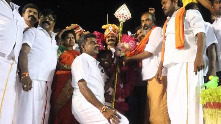 Tamil Nadu BJP plans monthlong Vterivel ytara