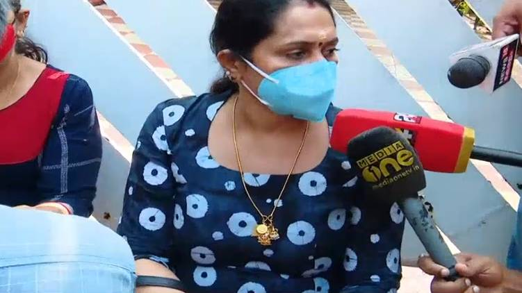 Relatives ask to see Bineesh's wife and baby