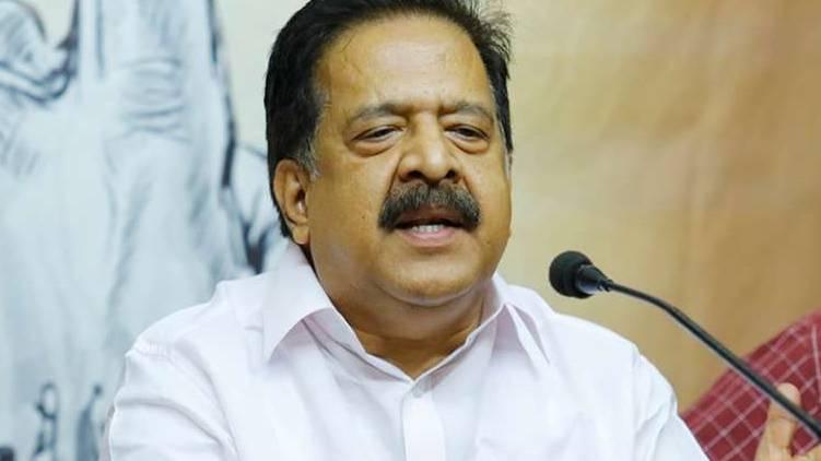 CM leads robbery; Ramesh Chennithala
