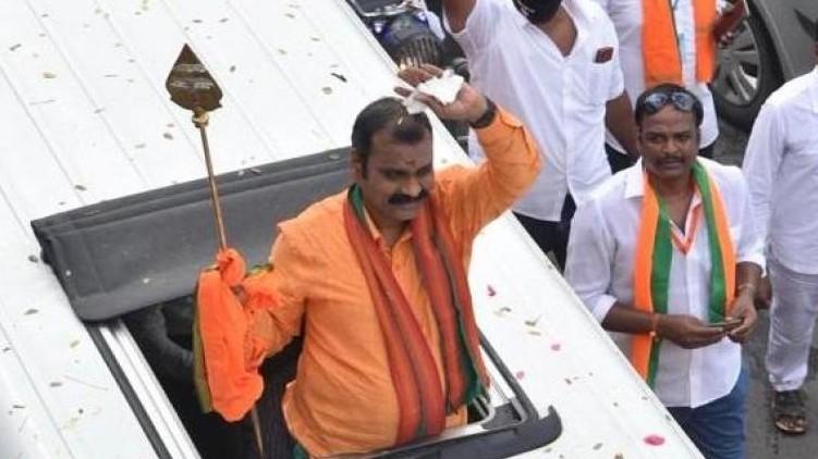 Vetrivel Yatra police BJP