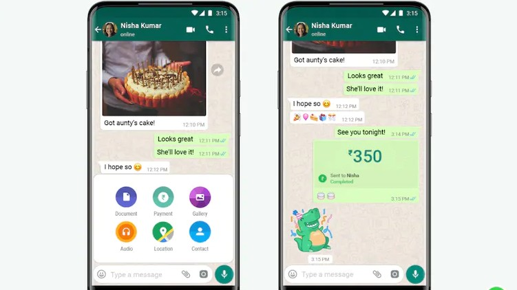 WhatsApp Pay now available
