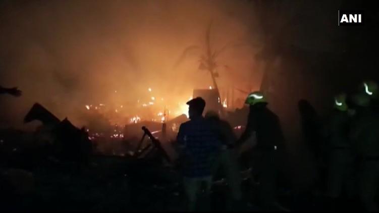 Fire Kolkata Houses Gutted
