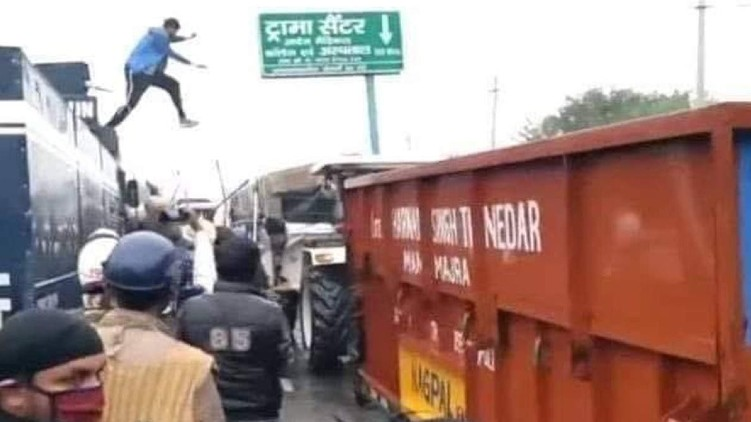 Farmer Protest Attempt Murder