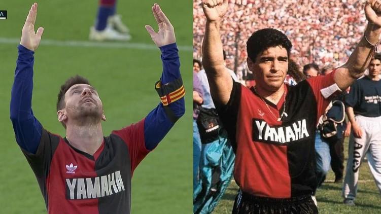 Lionel Messi Maradona barcelona