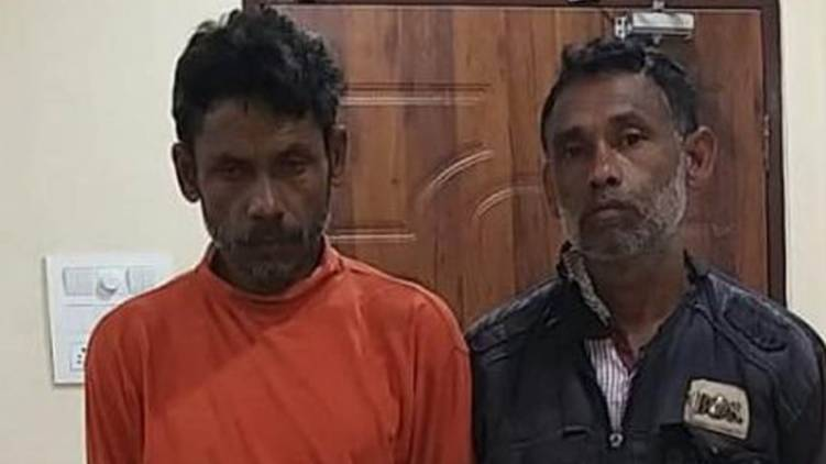 tried to sacrifice his own children to get the treasure; Brothers arrested in Assam