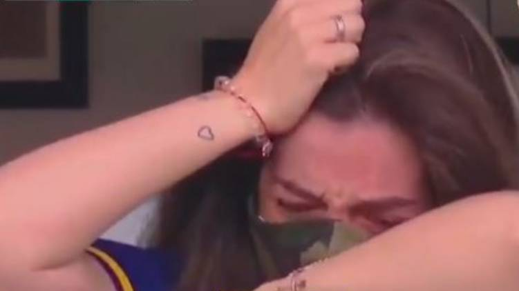 Watch Boca Juniors Emotional Tribute Brings Diego Maradona Daughter To Tears