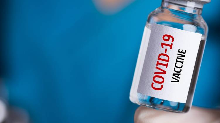 covid vaccine first dose for health workers says report